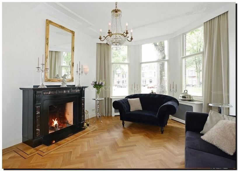 schouwspiegel goud gooisch interieur