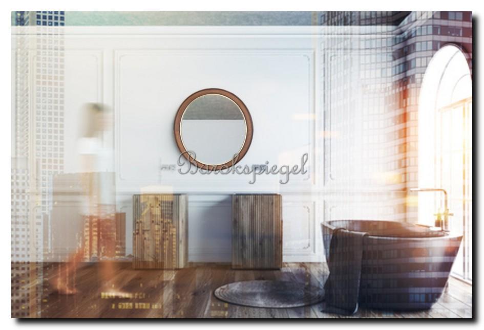 http://foto.barokspiegel.nl/jake/Ronde-spiegel-hout-walnoot-met-een-goud-randje